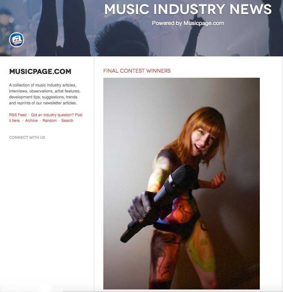TBF in Music Industry News