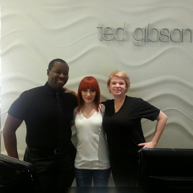 Norell with Ted Gibson'